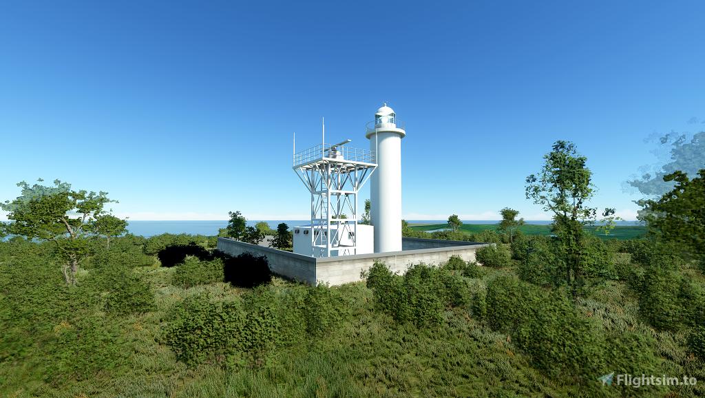 Kitadaitojima Lighthouse - Japan