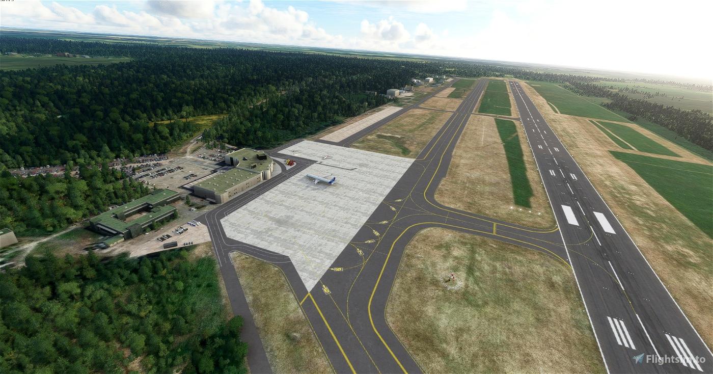 Szczecin Goleniów airport EPSC Flight Simulator 2020