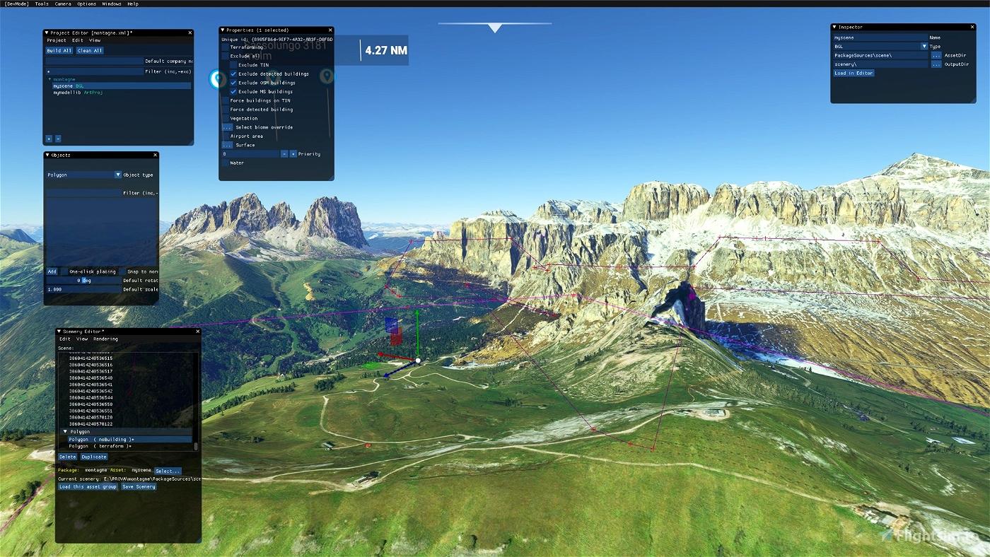 Sass Pordoi Flight Simulator 2020