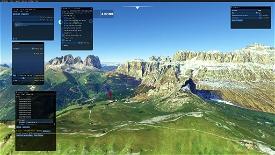 Sass Pordoi Image Flight Simulator 2020