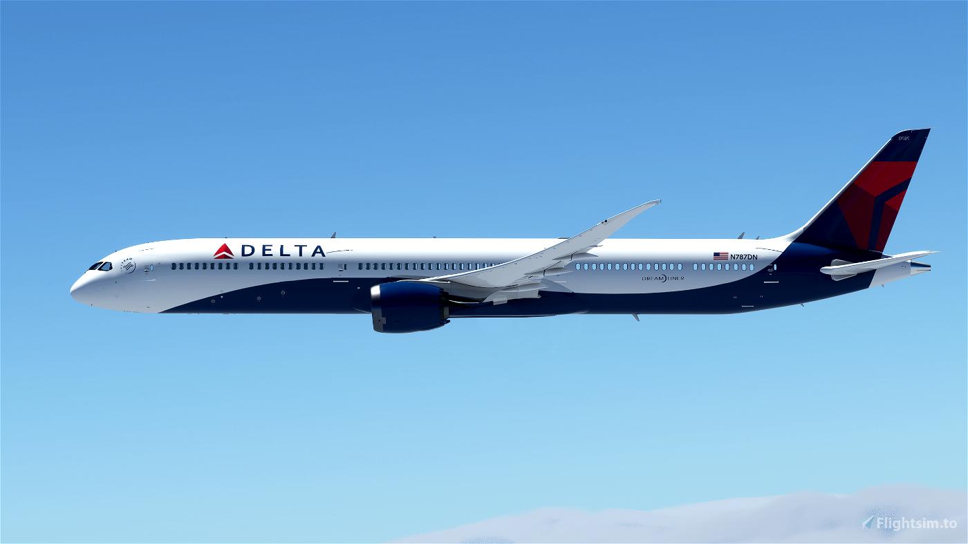 Delta ALT (8k) Flight Simulator 2020