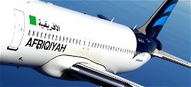Afriqiyah Airways - pre 2011/old Libyan flag [patch 5] Image Flight Simulator 2020