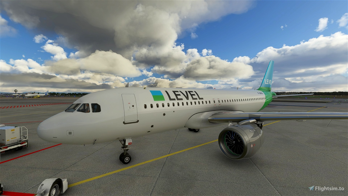 LEVEL A320N Livery