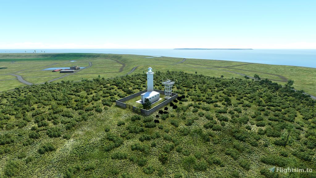 Kitadaitojima Lighthouse - Japan Flight Simulator 2020