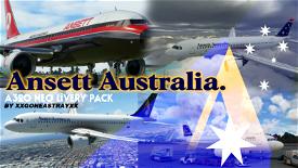 Ansett Australia Pack *Works with UPDATE* Image Flight Simulator 2020
