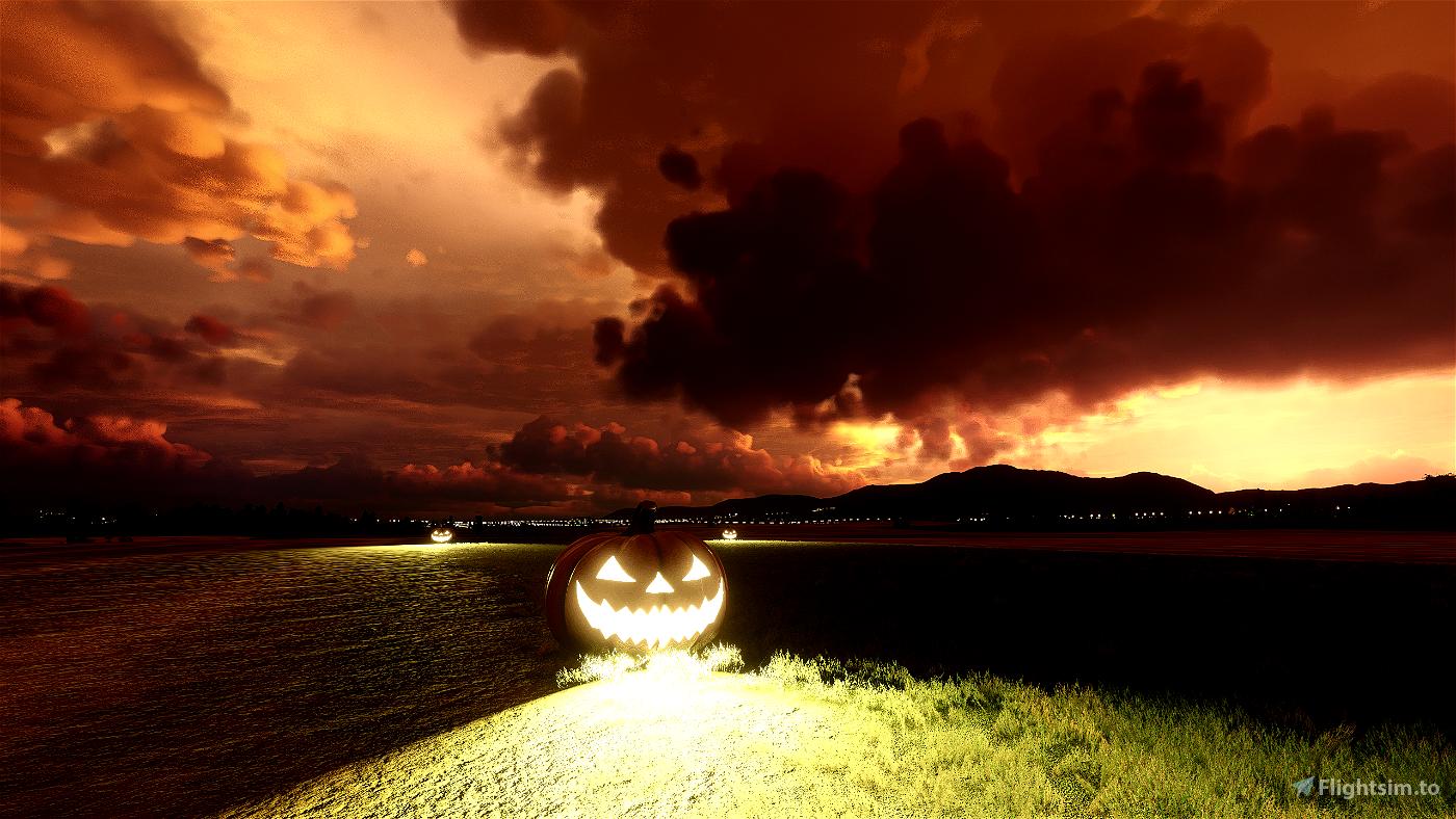 Halloween Creepy Weather Preset