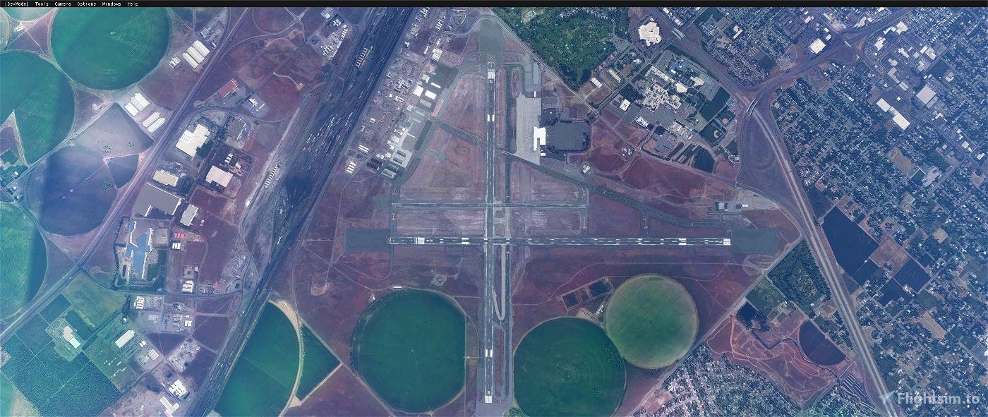 Tri-Cities Airport, Pasco WA USA - KPSC V1.1
