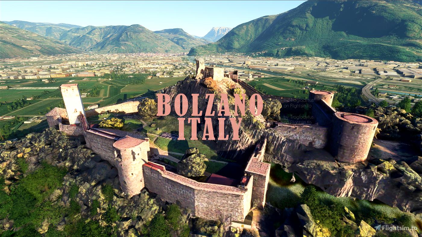 Bozen/Bolzano, Italy - Photogrammetry Flight Simulator 2020