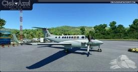 Costa Rica Police | MSP002 | Asobo Beechcraft King Air 350i (8K) Image Flight Simulator 2020