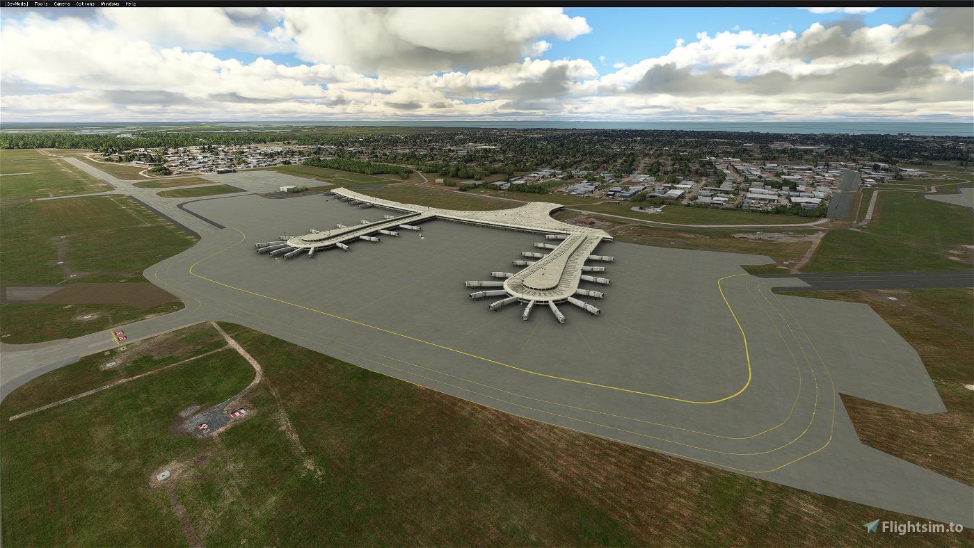 KMSY-Louis Armstrong International Airport Enhancement Flight Simulator 2020