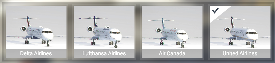 Liveries for CRJ-700 by Canadian Mods
