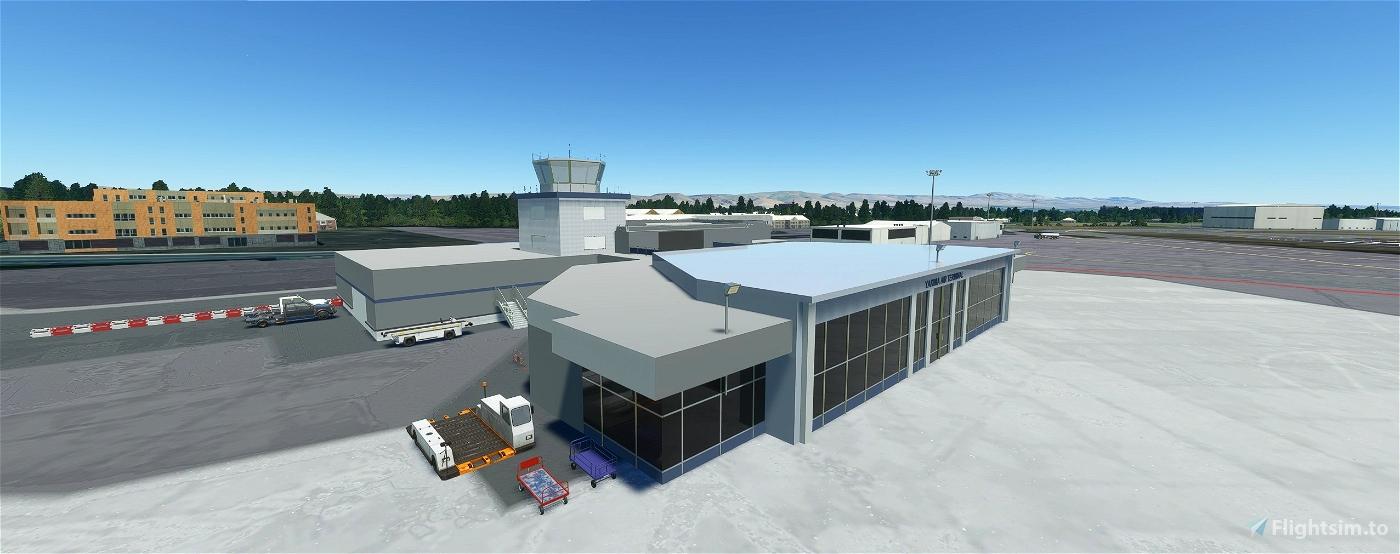 Yakima Air Terminal/McAllister Field, Yakima WA USA - KYKM V1.3