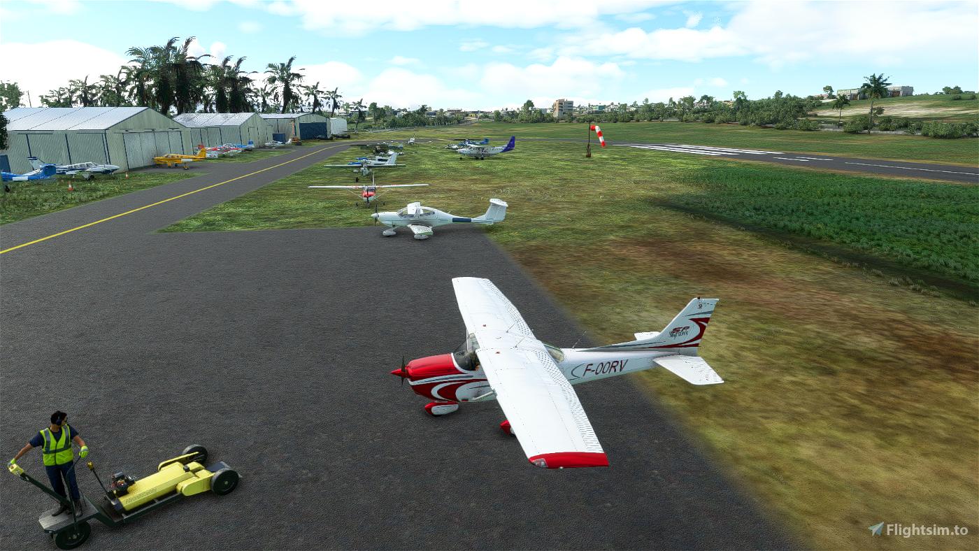 Saint-François city, Guadeloupe [TFFC] Flight Simulator 2020