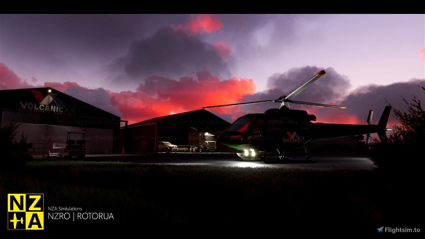 NZA Simulations -  NZRO & Rotorua Scenery Pack 1.1