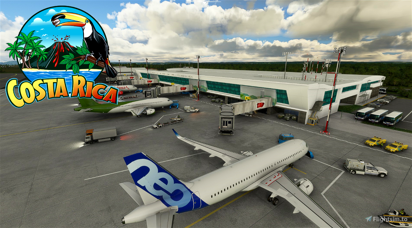 Aeropuerto Internacional Daniel Oduber Quirós - MRLB - Costa Rica Flight Simulator 2020