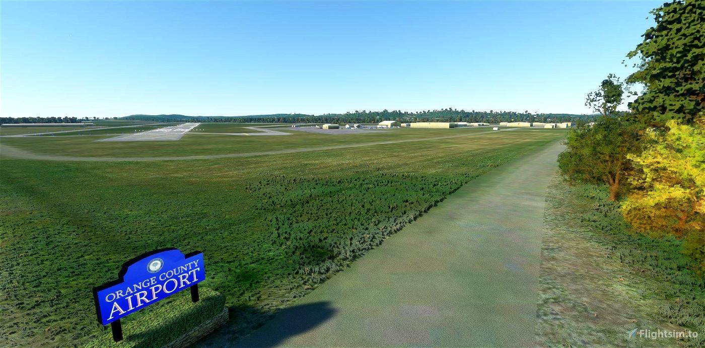 KMGJ Orange County Airport, Montgomery, NY Work in progress Flight Simulator 2020