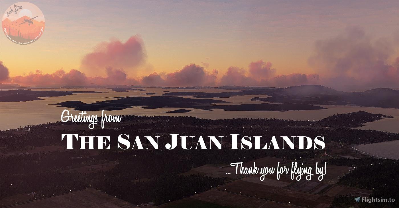 San Juan Islands, Washington Flight Simulator 2020