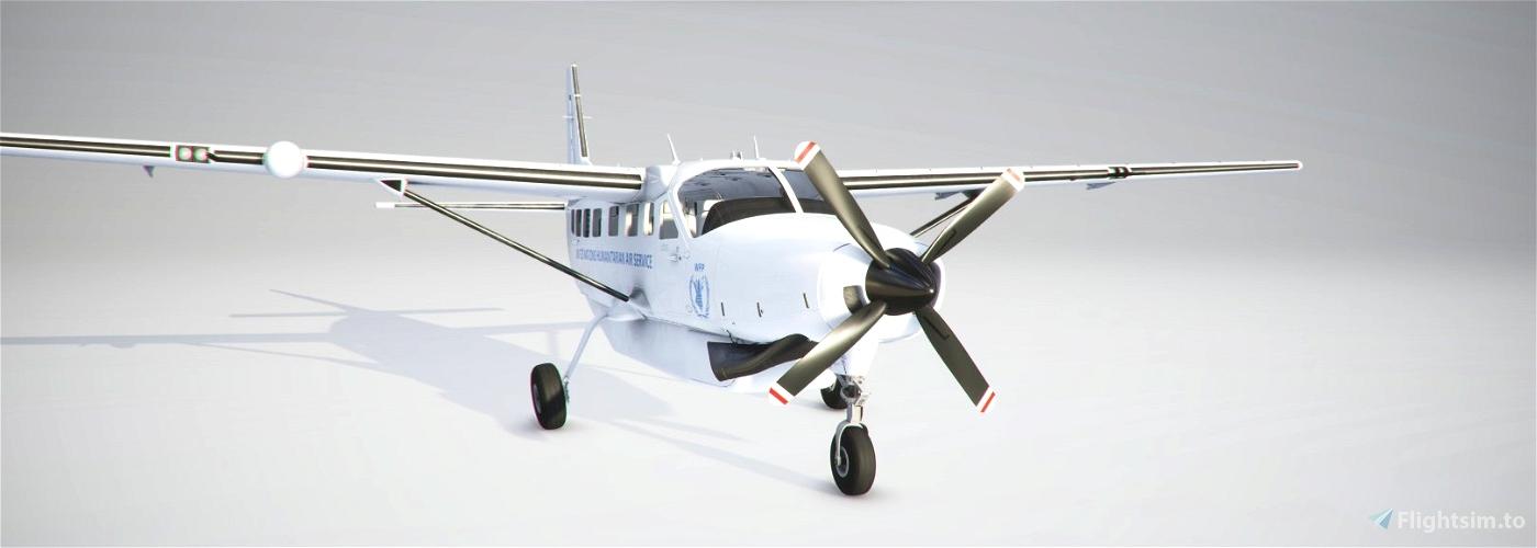 United Nations Cessna 208 B Flight Simulator 2020