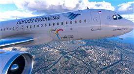 [8K] Garuda Indonesia Image Flight Simulator 2020