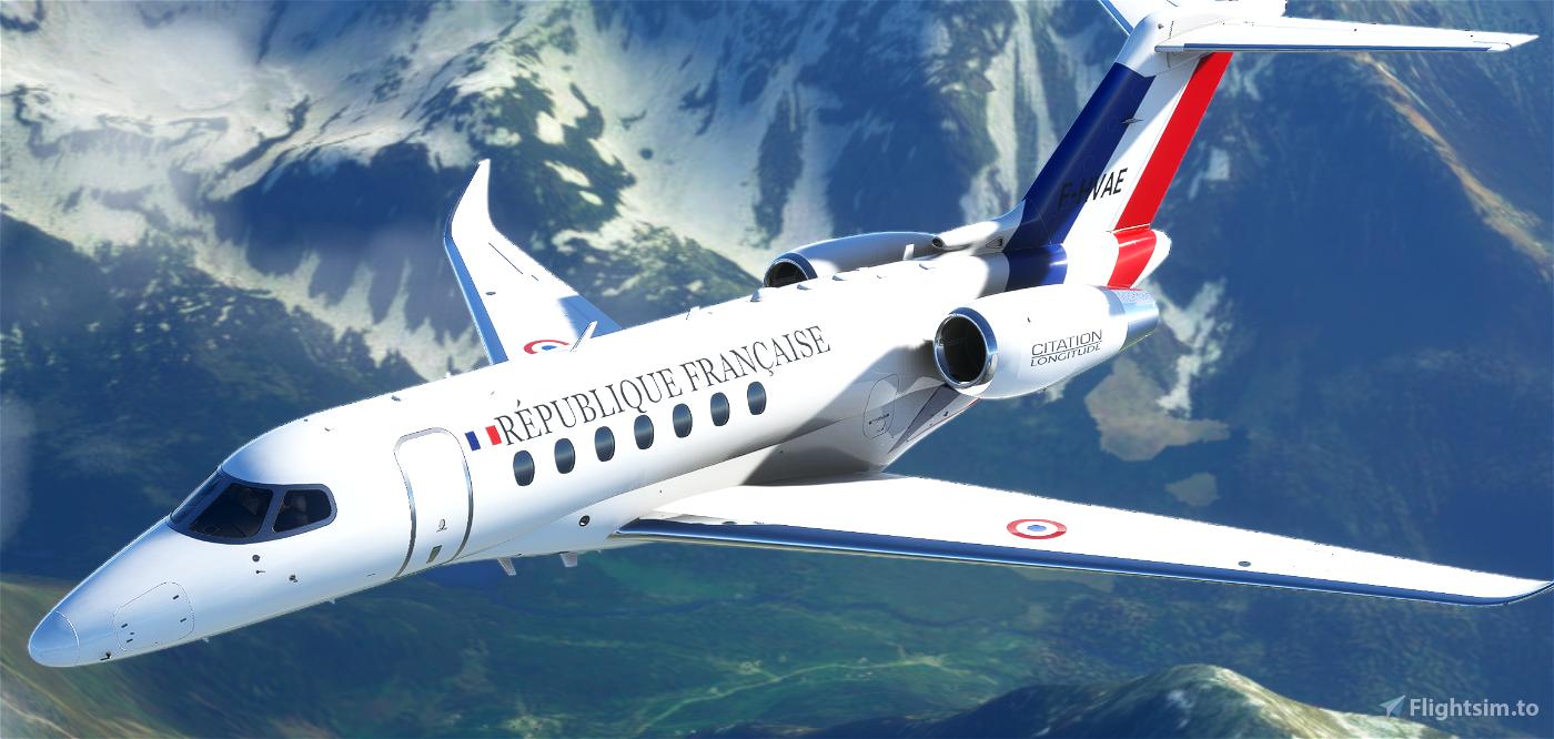 CITATION LONGITUDE ETEC Flight Simulator 2020