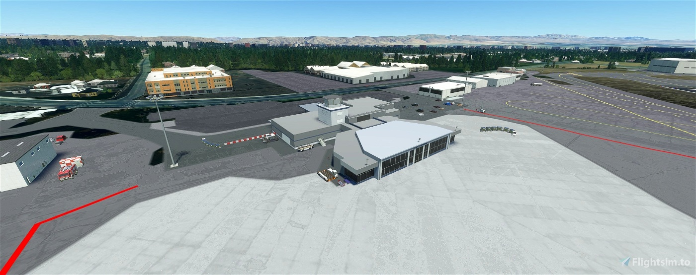 Yakima Air Terminal/McAllister Field, Yakima WA USA - KYKM V1.3 Flight Simulator 2020