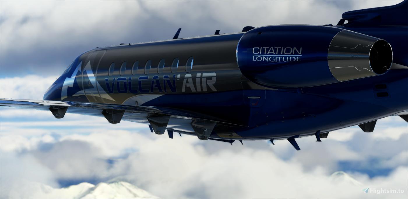 VOLCAN AIR CITATION LONGITUDE