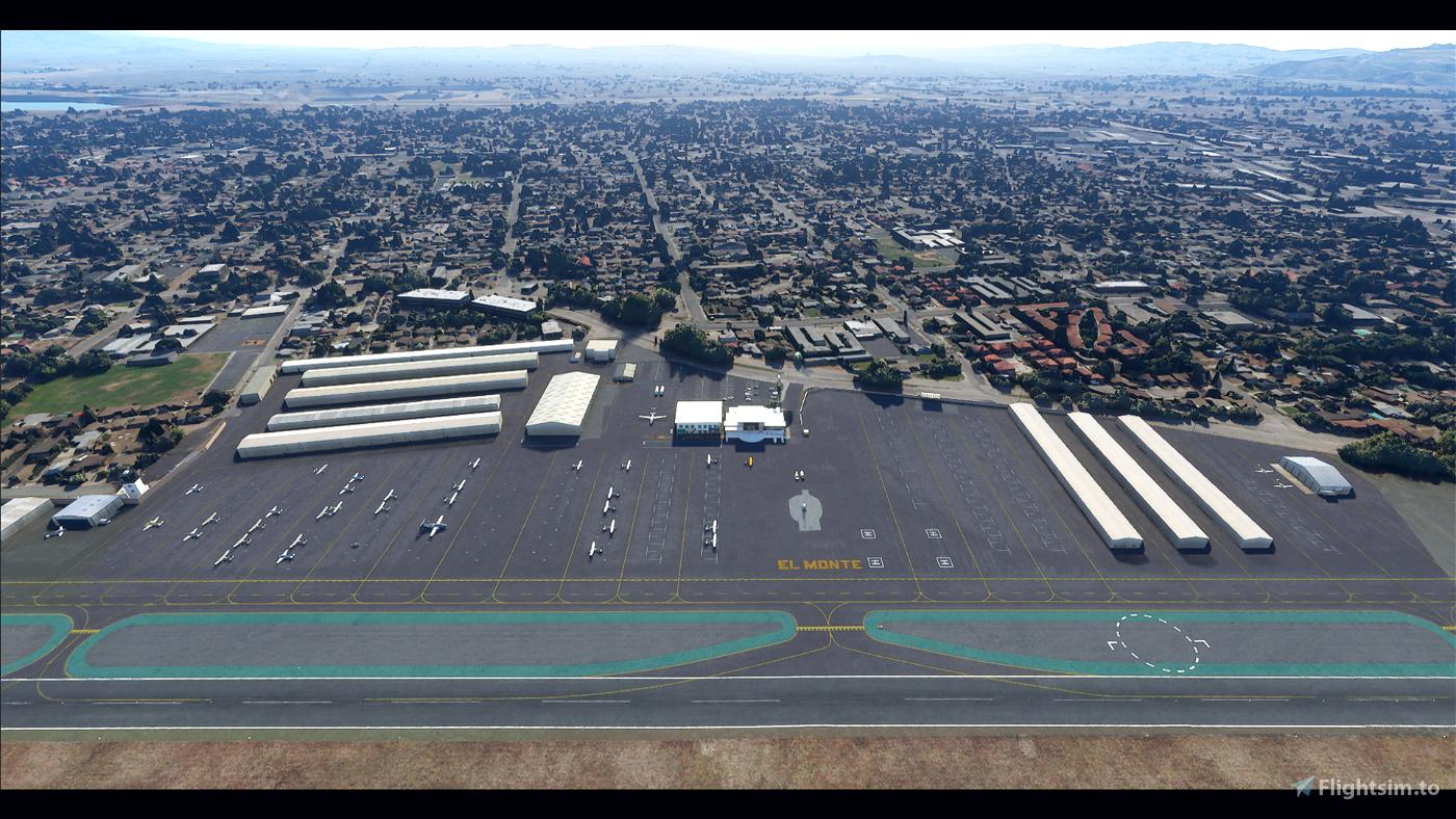 KEMT El Monte Airport (San Gabriel Valley Airport)