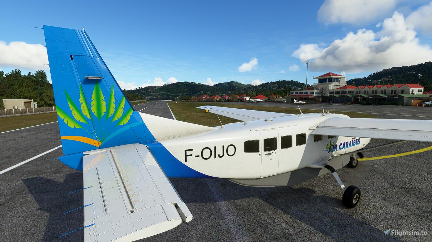 Air Caraibes Pre 2015 Branding C208 (8K Livery) Flight Simulator 2020