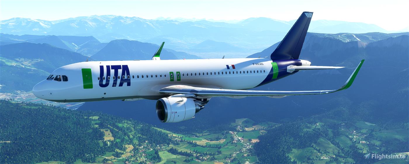 A320neo UTA Flight Simulator 2020