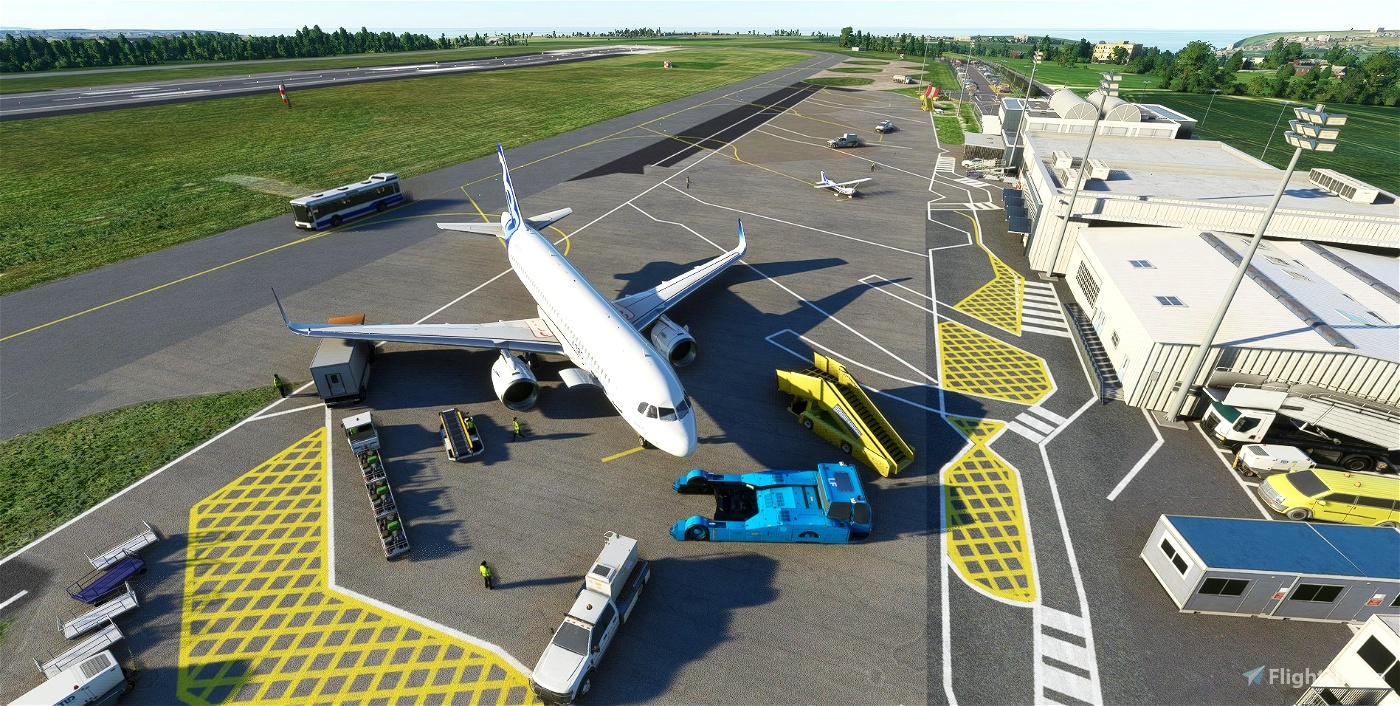 EGHQ - Newquay Airport/ St Mawgan AB - Upgrade Flight Simulator 2020