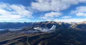 Bonanza G36 Satin Image Flight Simulator 2020
