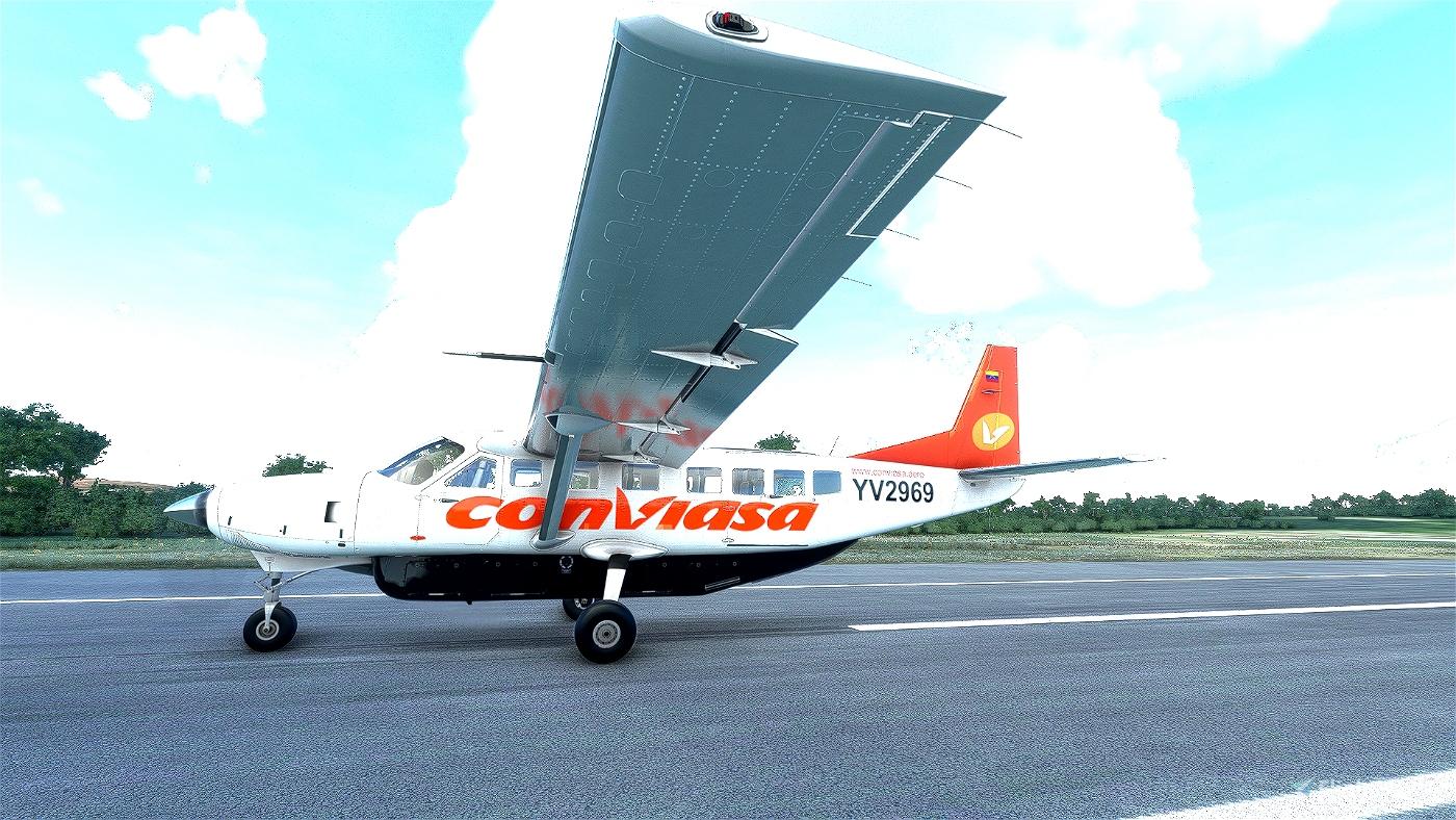 Cessna C208 Conviasa Flight Simulator 2020