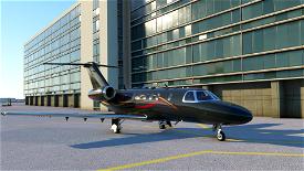 Citation CJ4 Dark Gray 4K Image Flight Simulator 2020