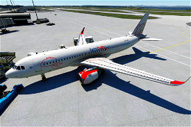 Airbus A320neo BMIBaby Image Flight Simulator 2020