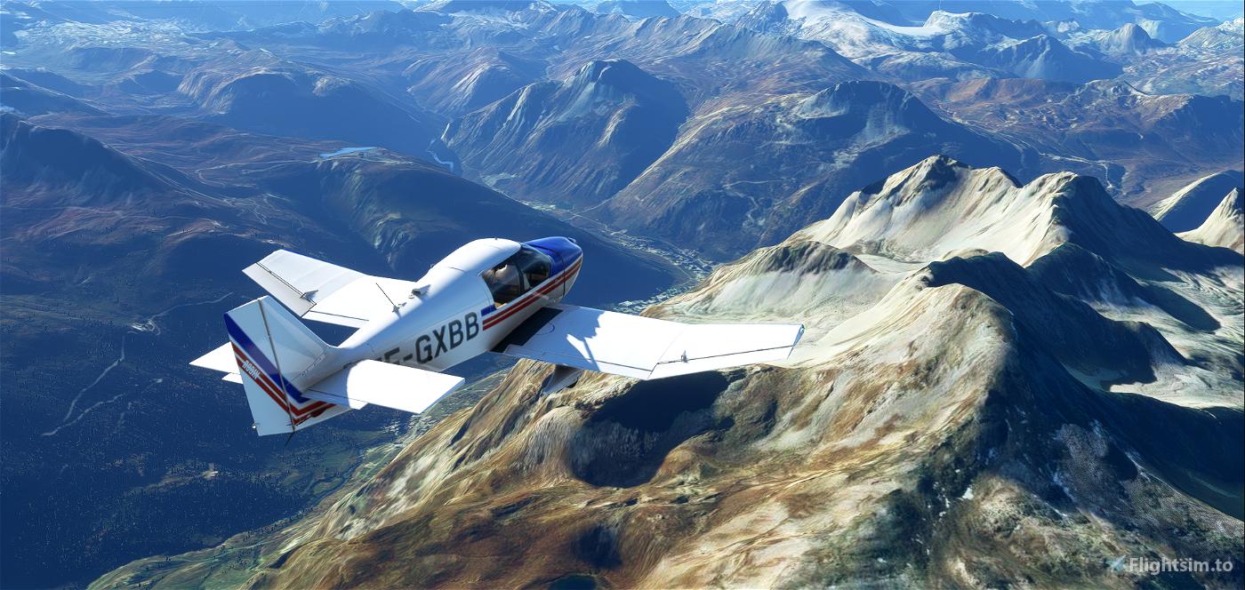 Robin DR400 Aéro-club de Senlis Chantilly Creil F-GXBB