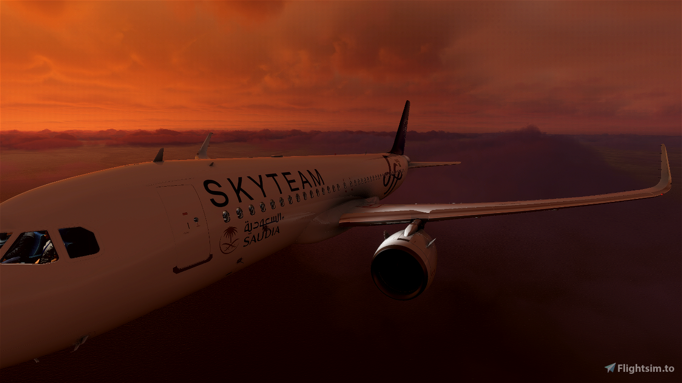 Saudia (Sky Team) A320 Flight Simulator 2020