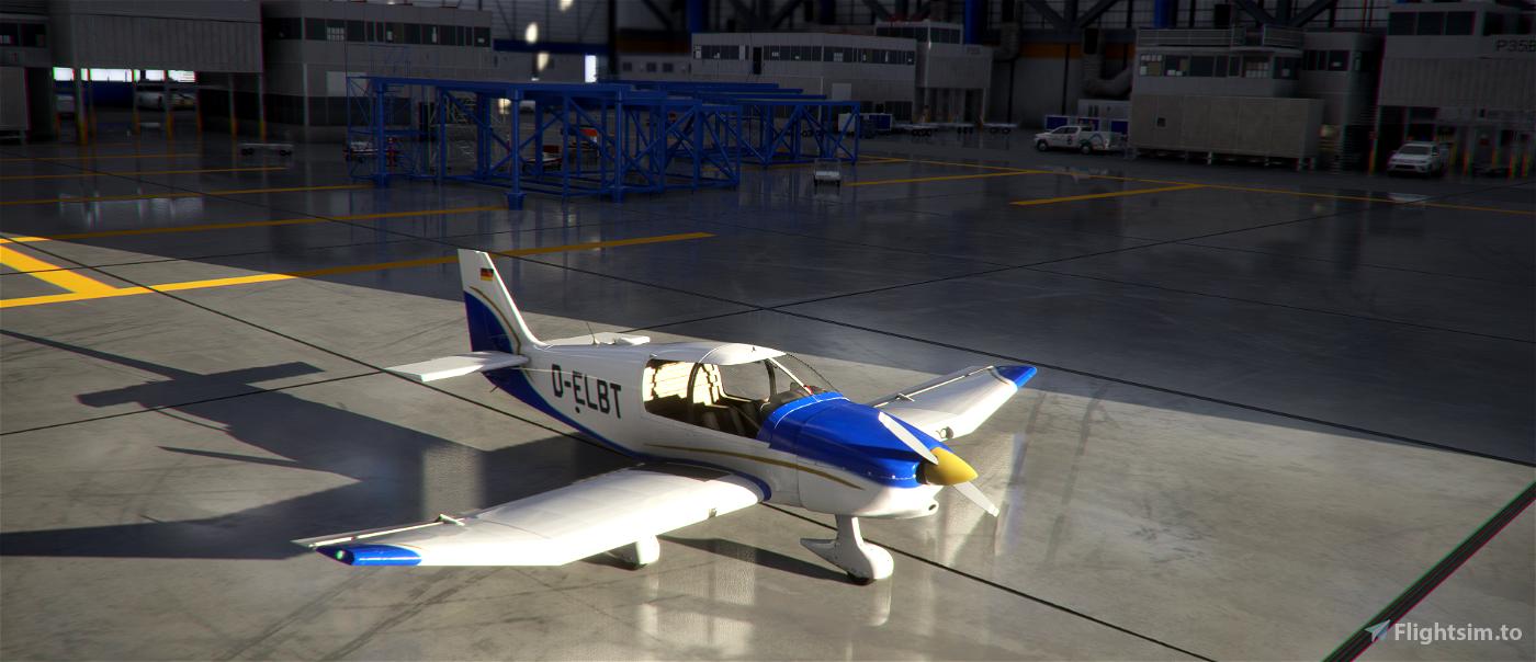 Robin DR400 Flugsportverein Bad Tölz D-ELBT