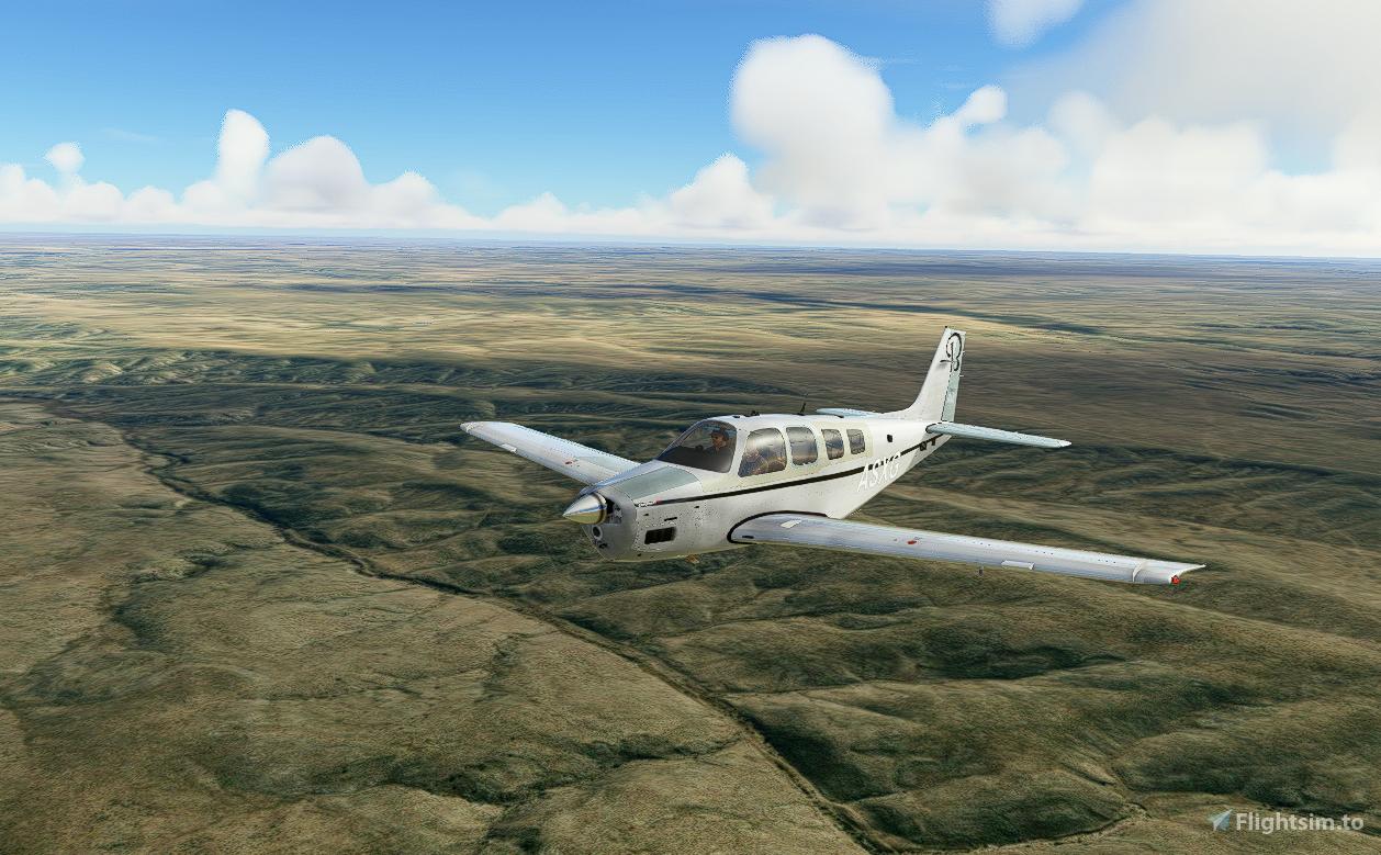 Bonanza Dirty (4K) Flight Simulator 2020