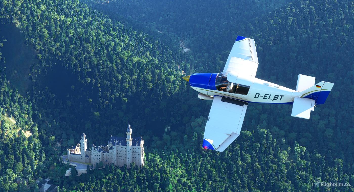Robin DR400 Flugsportverein Bad Tölz D-ELBT Flight Simulator 2020