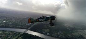 Fokker D.21 conversion Image Flight Simulator 2020