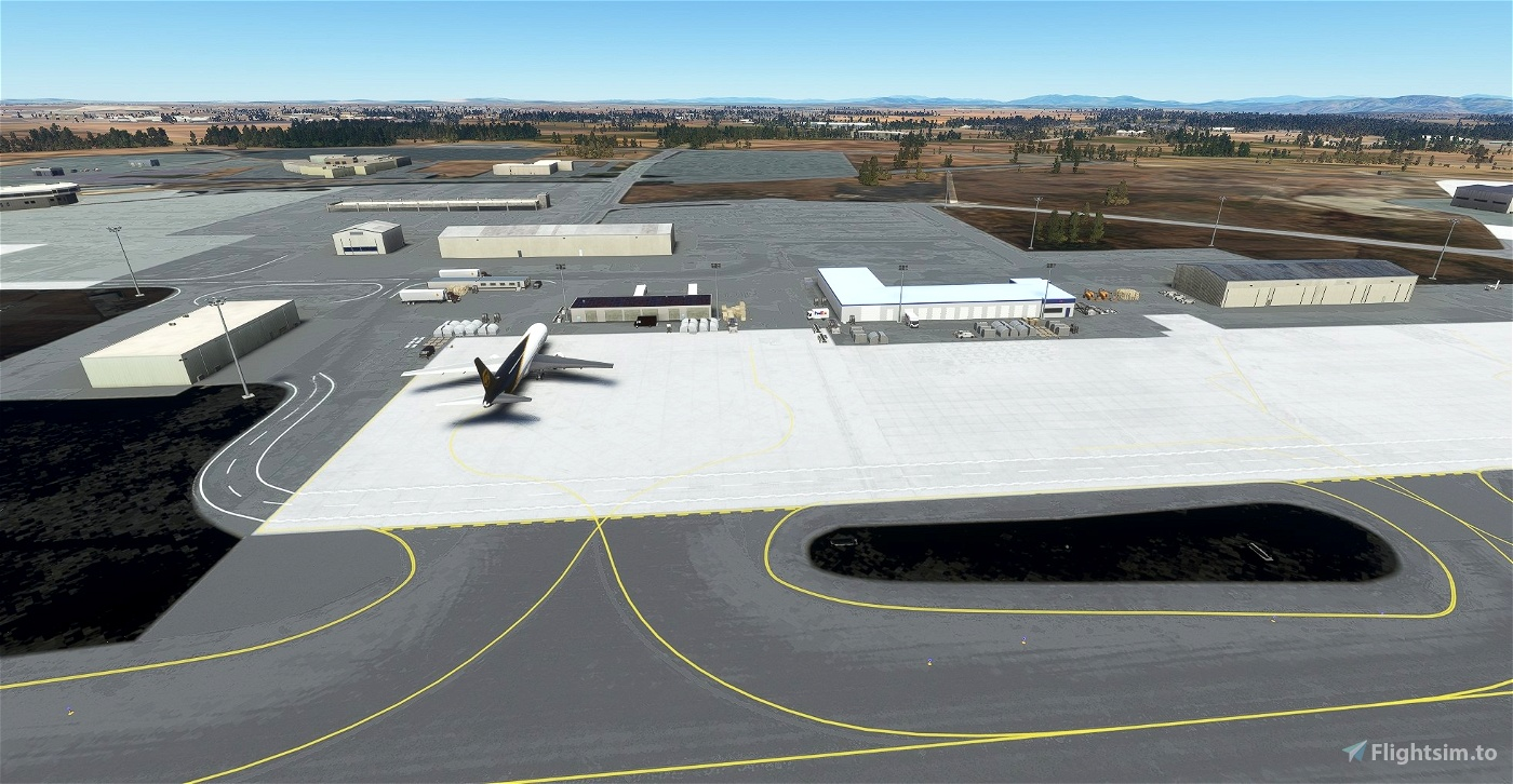 Spokane International Airport, Spokane WA USA - KGEG V1.32
