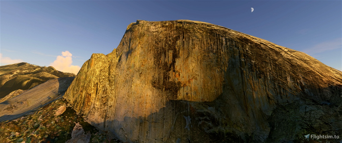 Yosemite Valley Flight Simulator 2020