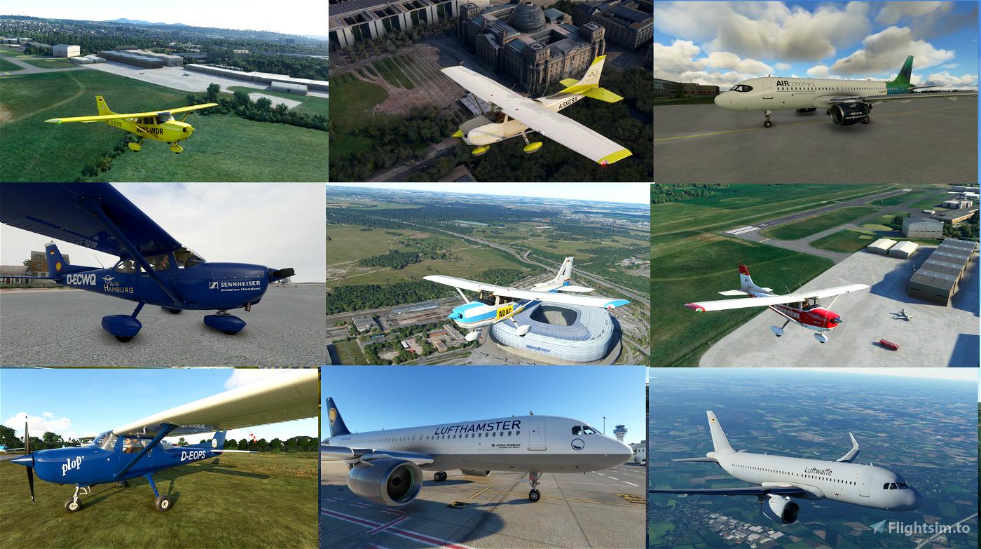 Benimix-LiverysPack Flight Simulator 2020