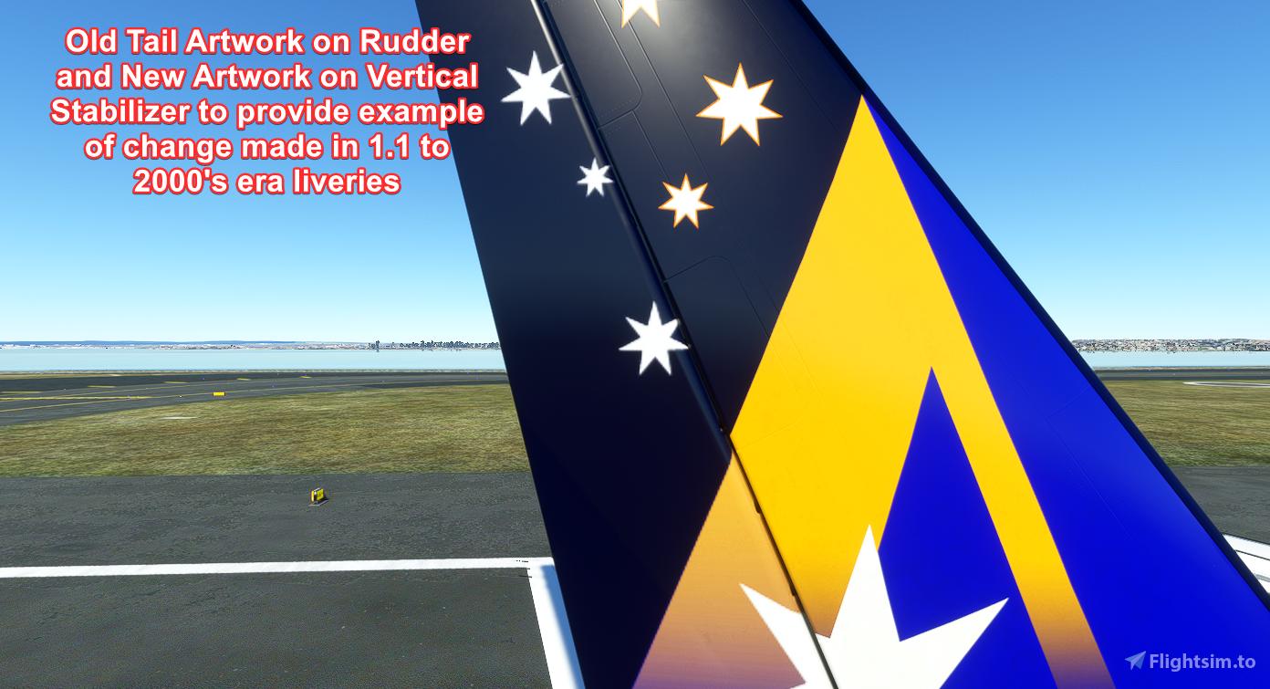 Ansett Australia Pack *Works with UPDATE*
