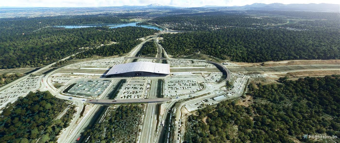 Aix TGV - L'arbois Flight Simulator 2020