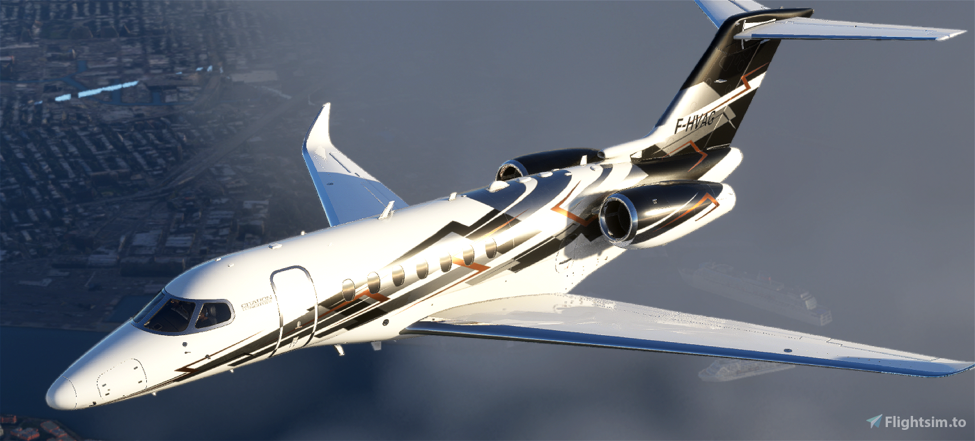 Citation Longitude N616NP Flight Simulator 2020