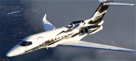 Citation Longitude N616NP Image Flight Simulator 2020
