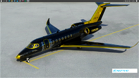 Shiny+Gold Pilotherick95's World Tour Livery 1 Image Flight Simulator 2020