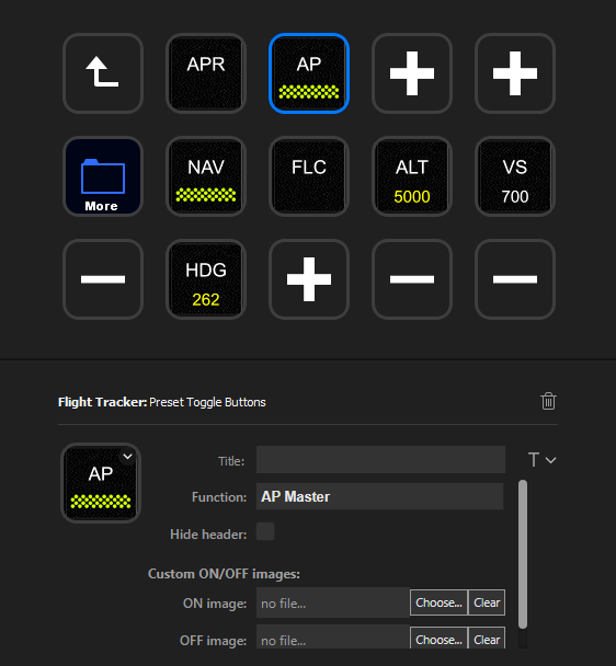 Flight Tracker StreamDeck plugin Flight Simulator 2020
