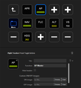 Flight Tracker StreamDeck plugin Image Flight Simulator 2020